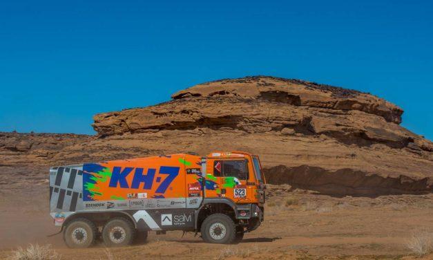 El camión 6×6 español finalizó con éxito el Dakar 2020