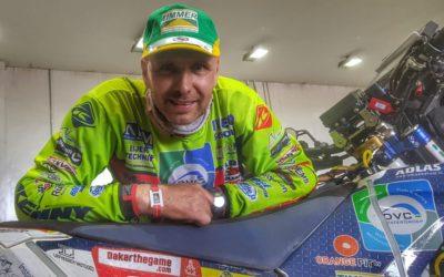Edwin Straver continúa en estado delicado tras su grave accidente en el Dakar 2020