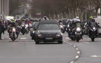 Video: El emotivo adiós a Paulo Gonçalves en Portugal