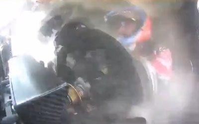Video: Espectacular onboard del accidente de Alonso en el Dakar 2020