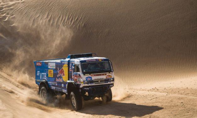 Karginov sigue tomando distancia en la general – Resumen Camiones – Dakar 2020 – Etapa 8