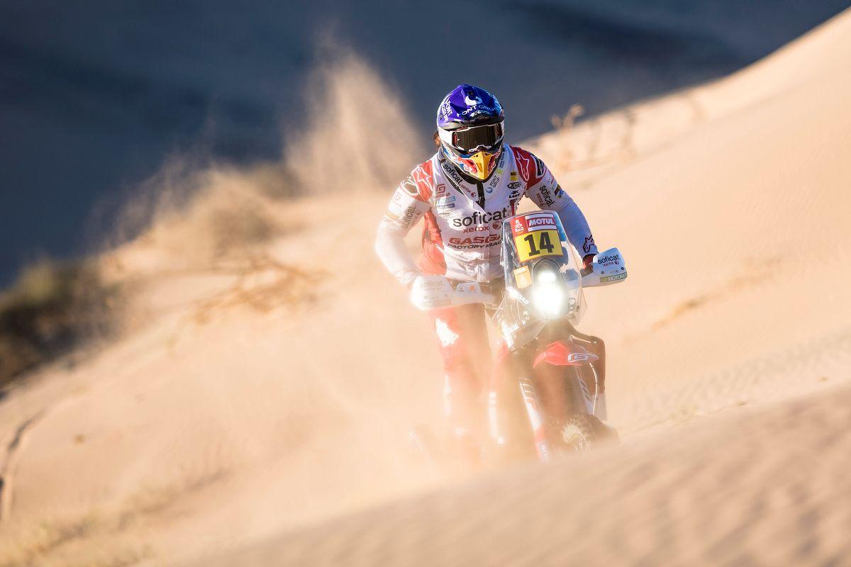 Laia Sanz le ganó por décima vez consecutiva al Rally Dakar
