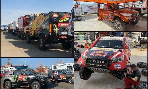 Los equipos y pilotos van llegando a Arabia Saudita para disputar el Dakar 2020