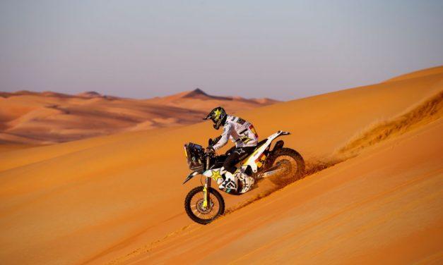 Quintanilla descuenta varios minutos a Brabec y la lucha se enciende – Etapa 11 – Resumen Motos – Dakar 2020