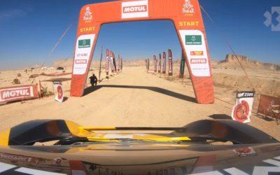 Video: Así fue la participación de Ken Block con el coche eléctrico en el Dakar 2020
