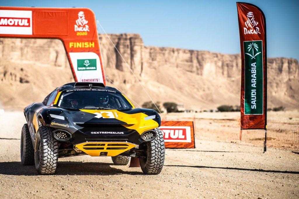 Ken Block logró el tercer lugar con el Oddisey 21 en el Qiddiya Grand Prix