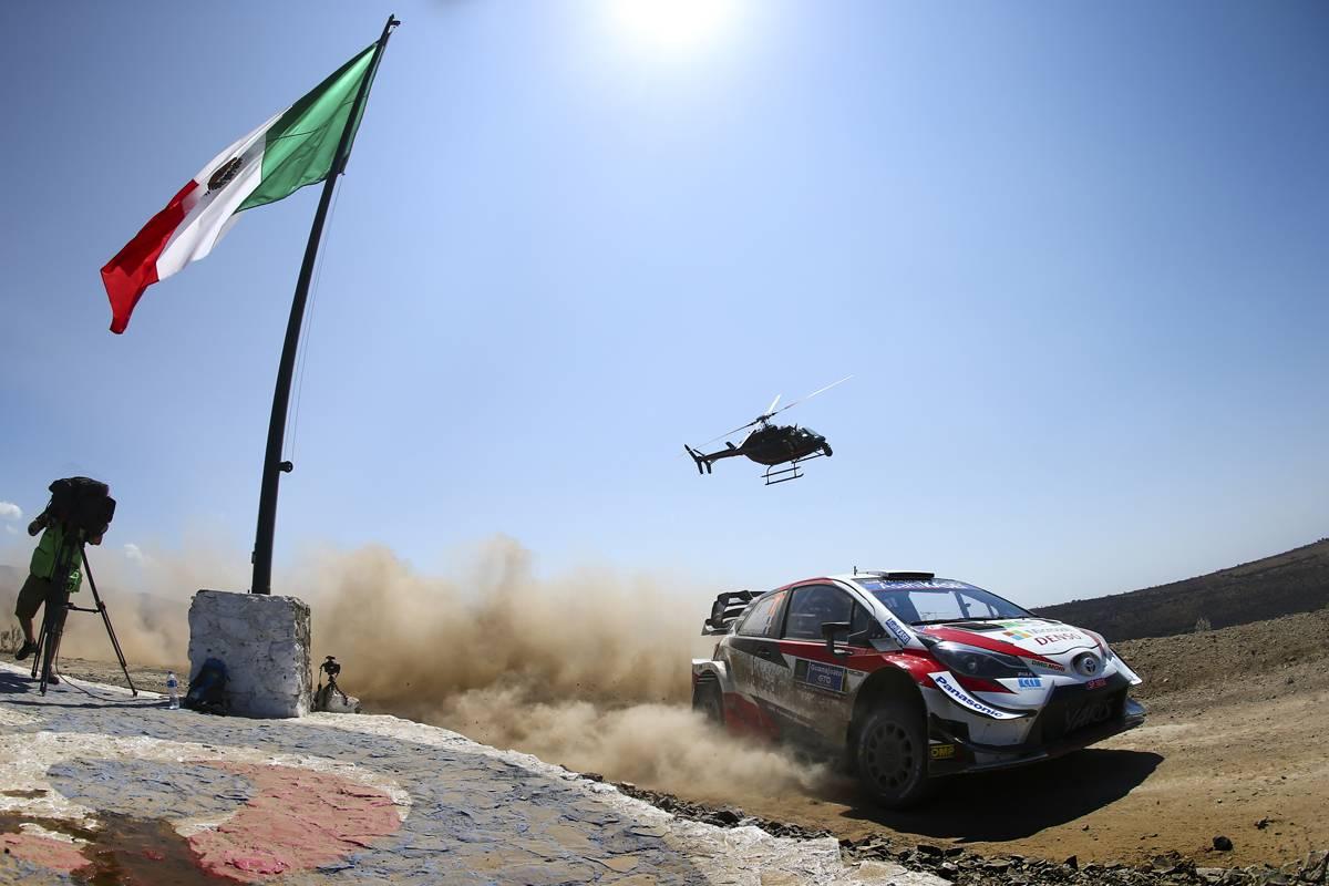 Sebastien Ogier ganó el Rally de México 2020 2