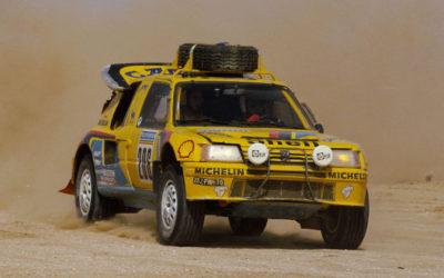 Peugeot 205 Turbo, una máquina que triunfó en el WRC y también en el Dakar