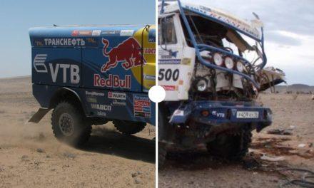 Antes y después: así quedan los vehículos del Dakar luego de sus accidentes – Parte 2