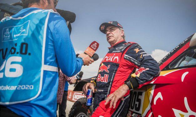 Según Carlos Sainz, el Coronavirus estuvo presente en el vivac del Dakar 2020