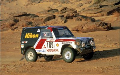 Mitsubishi, una de las grandes marcas que supo dominar el Rally Dakar