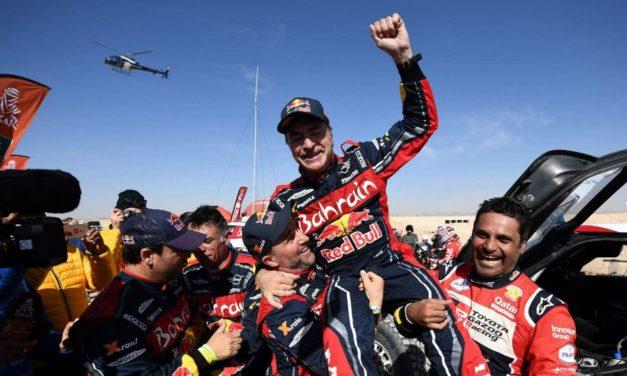 Carlos Sainz es elegido como El Mejor Piloto del WRC por el público y expertos