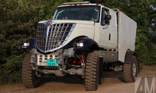Presentan el DKR3, un camión con un look nunca antes visto en el Dakar