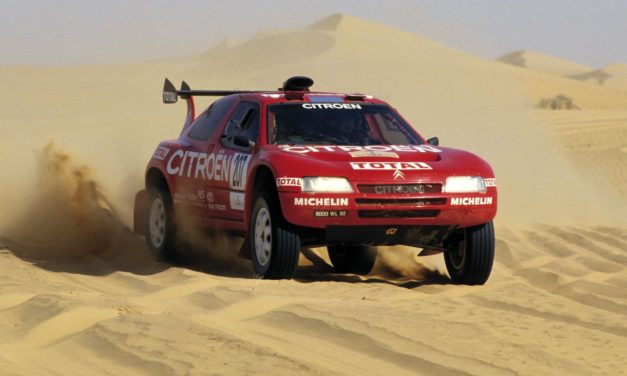 Citroën ZX, un prototipo del Dakar que triunfó en los años 90