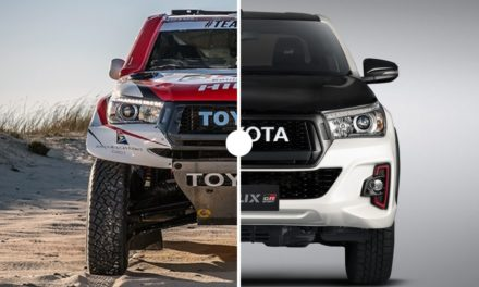 Comparación: Toyota Hilux del Rally Dakar vs Hilux de fábrica