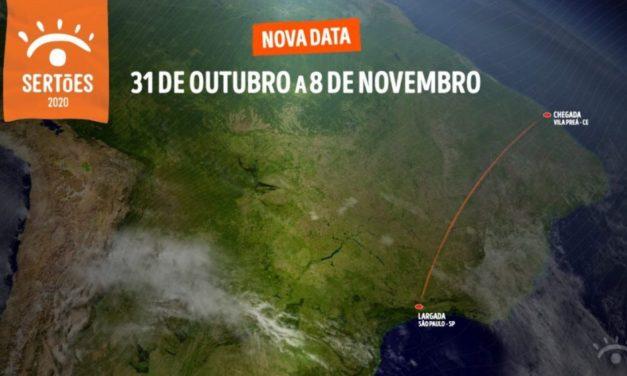 El Rally dos Sertões se adelanta al 31 de octubre
