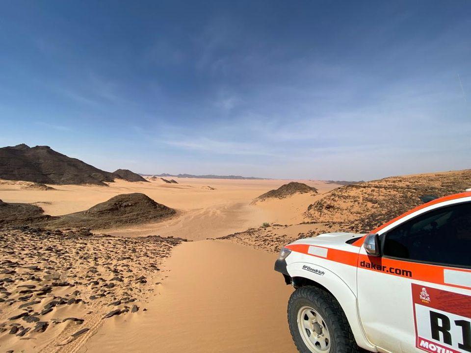 Comenzó el reconocimiento del desierto saudí de cara al Dakar 2021