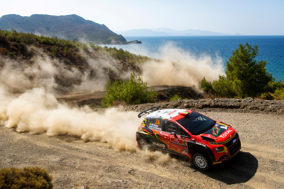 El boliviano Marco Bulacia es el nuevo líder del WRC3