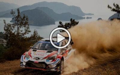 Video: Evans ganó un accidentado rally de locos en Turquía