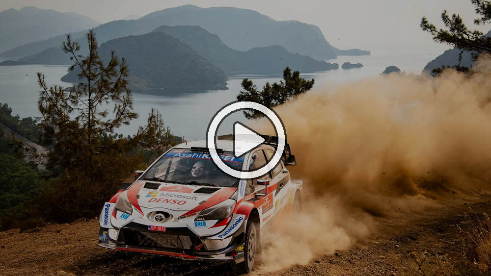 Video: Evans ganó un accidentado rally de locos en Turquía