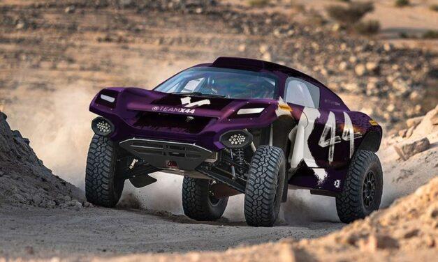 Lewis Hamilton tendrá su propio equipo de rally en la Extreme E
