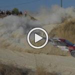 Video: Al-Attiyah realizó unas «donuts» en plena competencia del Rally de Chipre