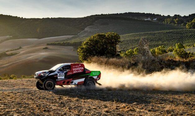Al-Rajhi fue el más rápido en la primera etapa del Andalucía Rally