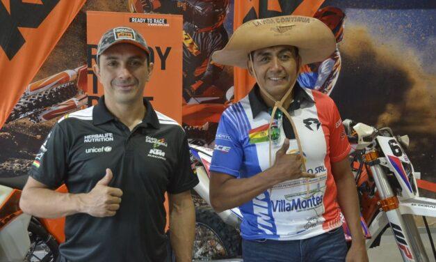 El Chavo Salvatierra y Fabricio Fuentes representarán a Bolivia en la Baja 1000