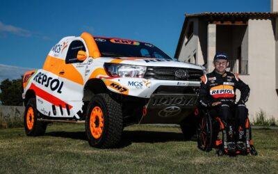 Isidre Esteve se sube a Toyota para el Andalucía Rally y el Dakar 2021
