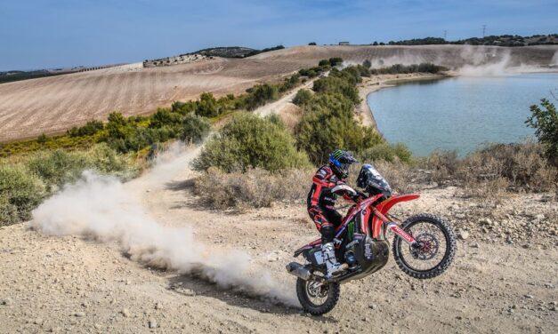 Kevin Benavides se llevó la primera etapa del Andalucía Rally