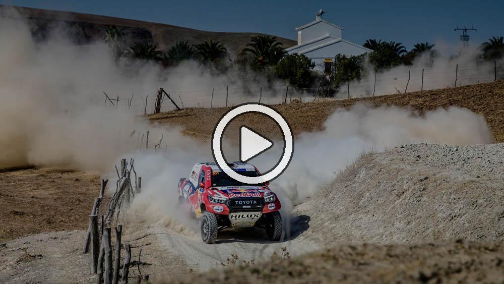 Video: el resumen de la etapa 4 del Andalucia Rally en español