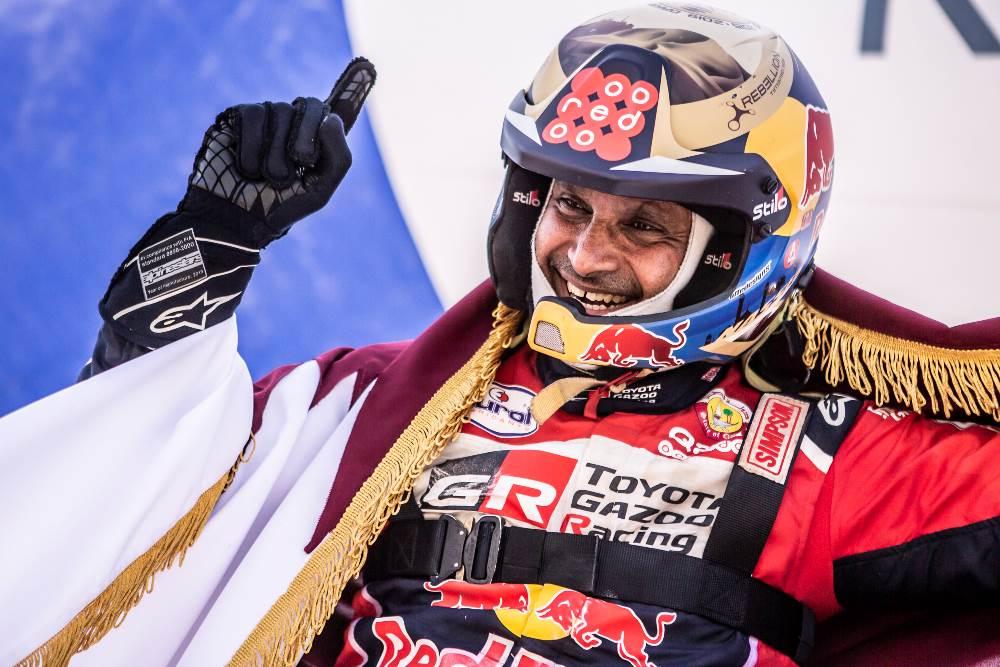 Al-Attiyah logró la victoria en el Andalucía Rally