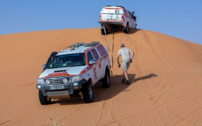 Videos y fotos: así se prepara el recorrido para el Dakar 2021