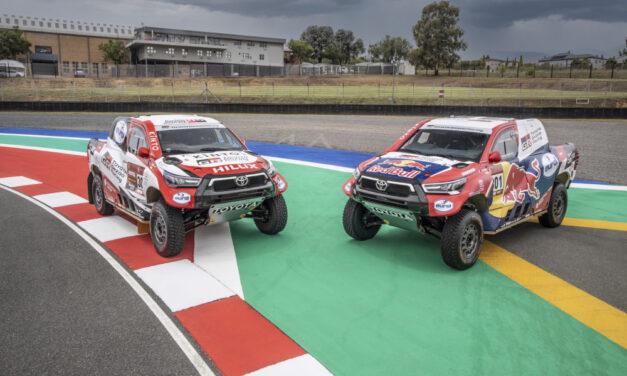 Toyota Gazoo Racing confirmó su alineación para el Dakar 2021