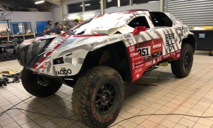 Fotos: así es el espectacular buggy de Rebellion Racing para el Dakar 2021