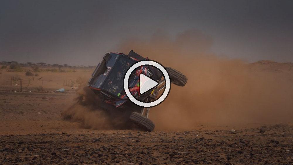 El Rally Dakar 2021 ya tuvo su primer accidente en el Shakedown