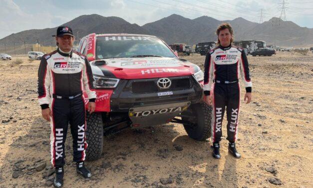 Juan Cruz Yacopini debutará en el Dakar 2021 a bordo de una Hilux oficial Overdrive