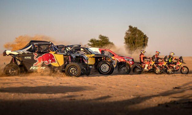 Video: Red Bull Desert Wings presenta su alineación para el Dakar 2021