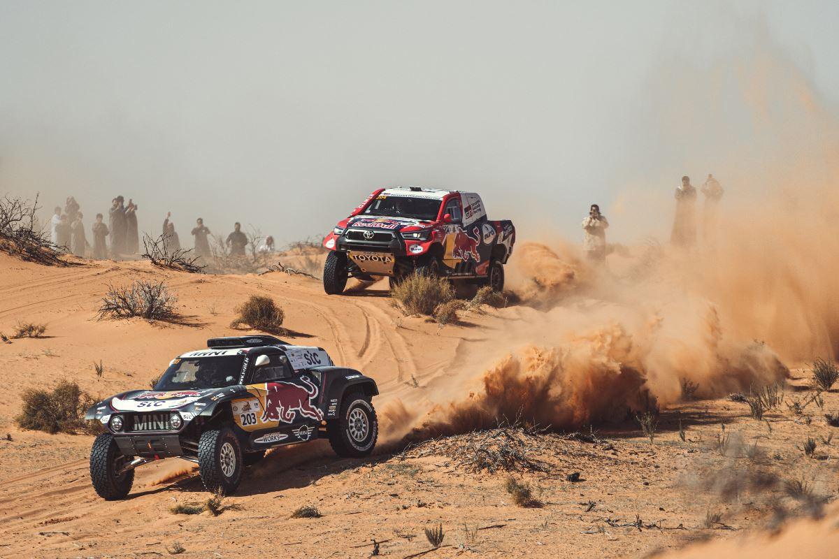 Dakar 2021 – Previa autos: MINI y Toyota se disputan nuevamente la victoria en Arabia Saudita