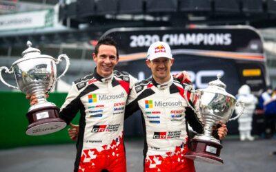 Sebastien Ogier logra su séptimo título de WRC