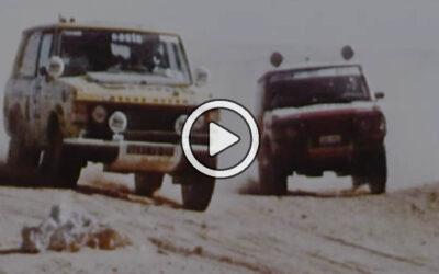 Video: los autos del Dakar Classic en competencia