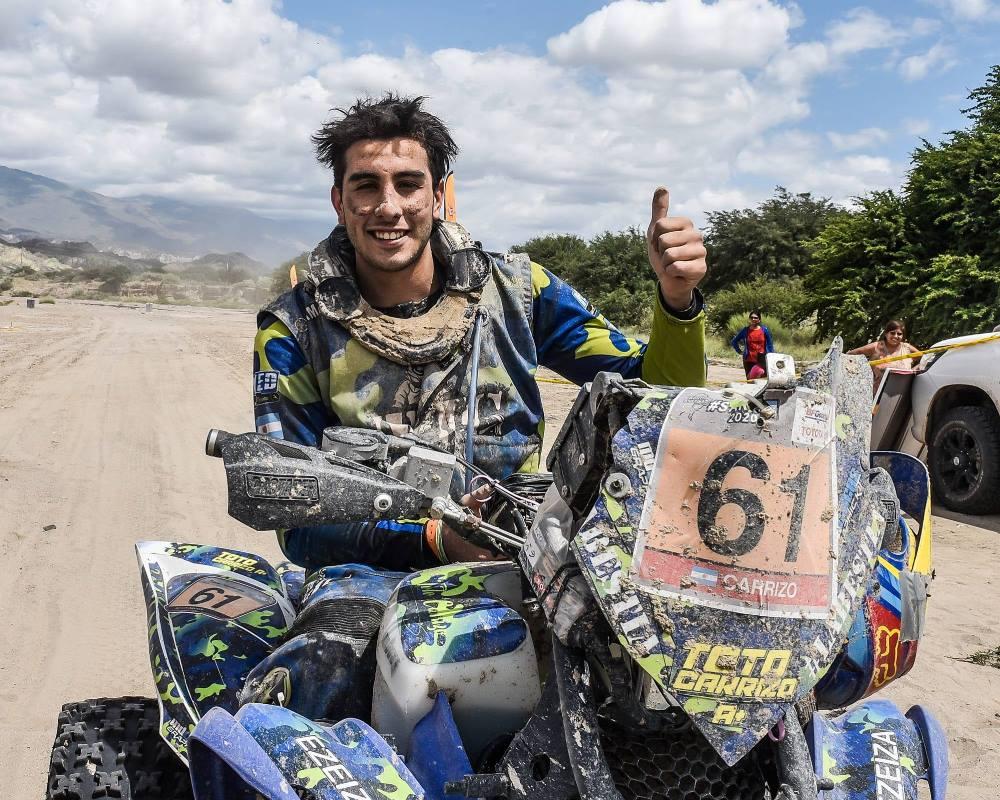 Tobías Carrizo, la gran promesa argentina del Dakar 2021