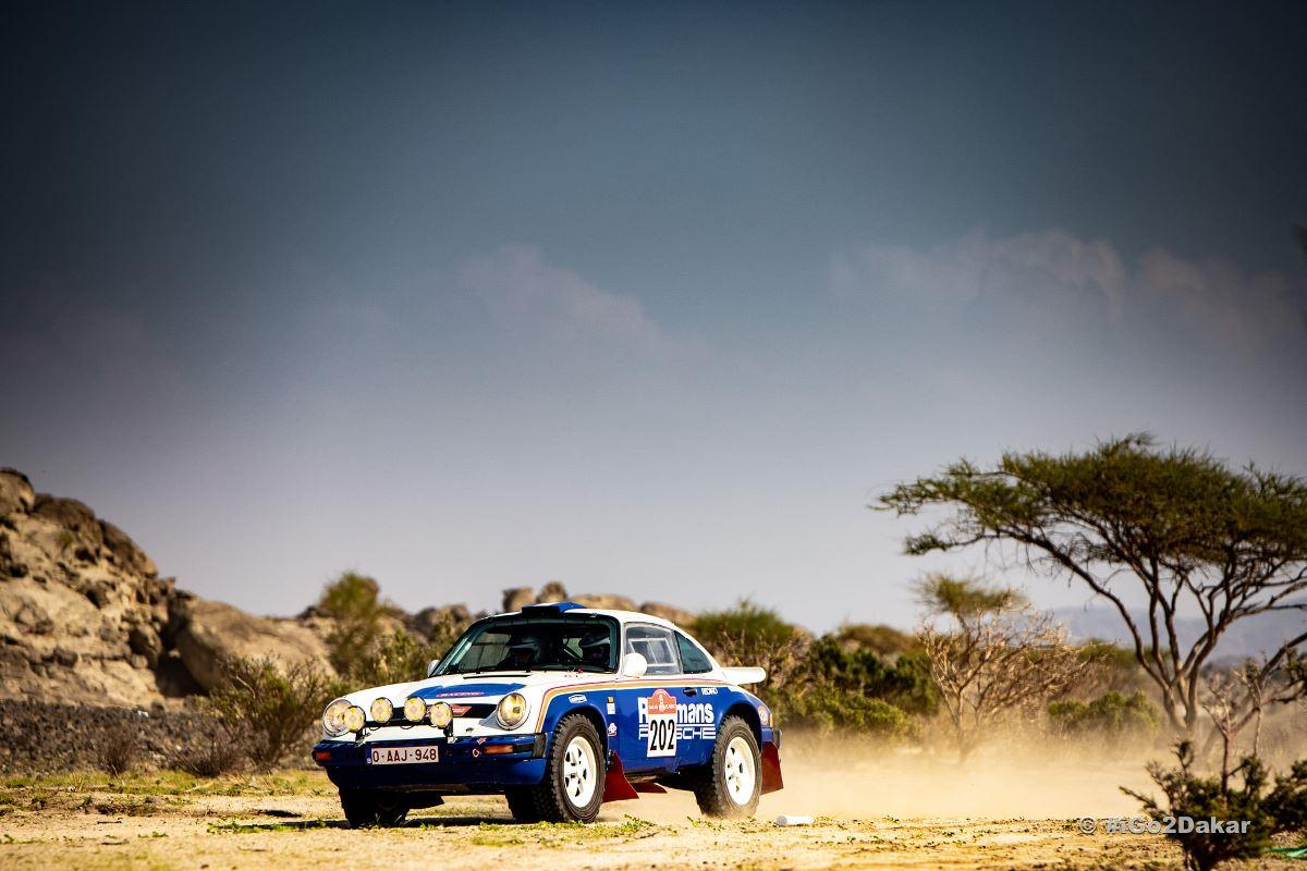Fotos y videos: El Dakar Classic debutó en el prólogo