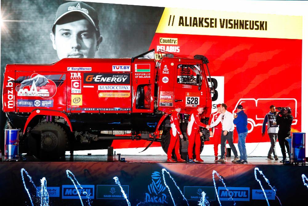 En vivo: el podio de llegada y entrega de premios del Dakar 2021