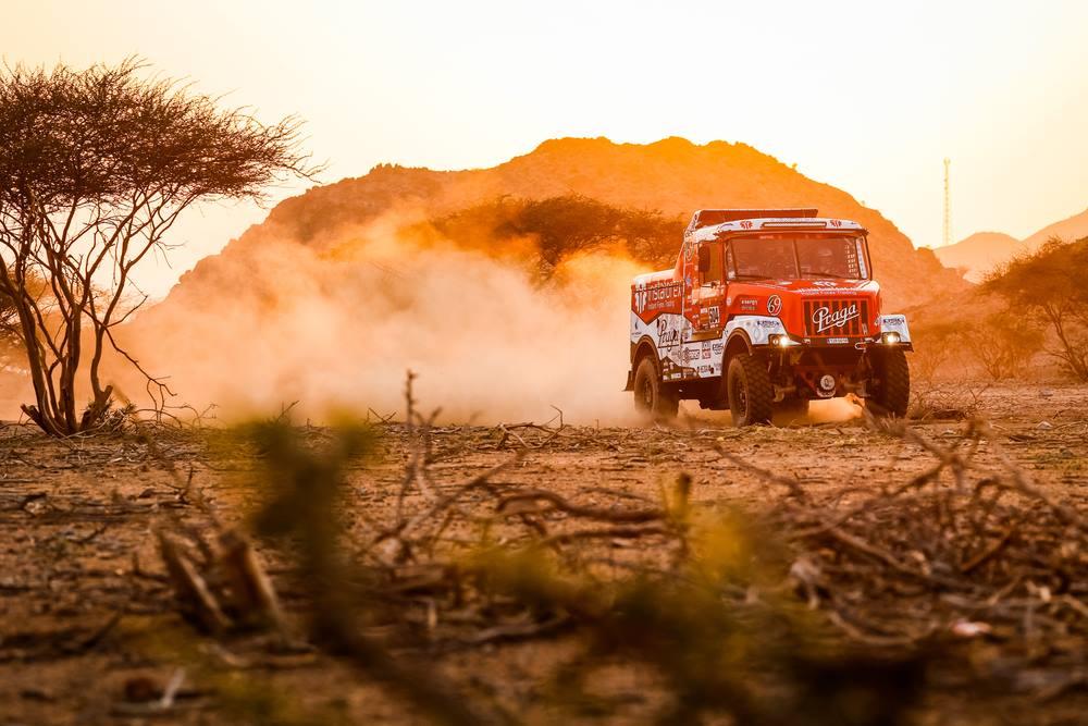 Recorrido de la etapa 1: Jeddah – Bisha – Dakar 2021