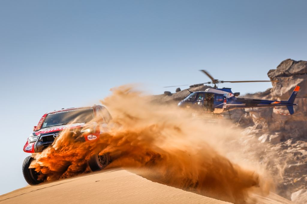 Al-Attiyah impone condiciones en la etapa 2 – Reporte Autos – Dakar 2021