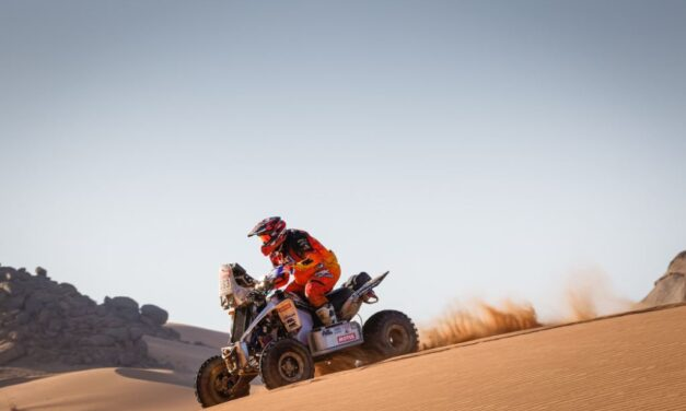 Pablo Copetti demuestra que está en forma en la etapa 2 – Reporte Quads – Dakar 2021