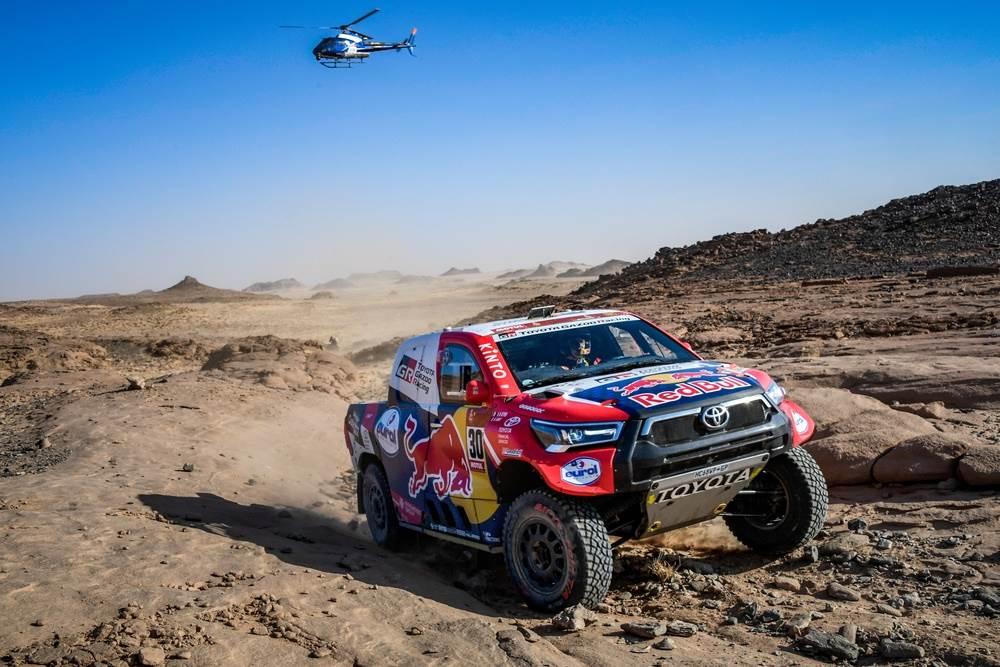 Al-Attiyah gana la Etapa 3 y le descuenta tiempo a Peterhansel – Reporte Autos – Dakar 2021