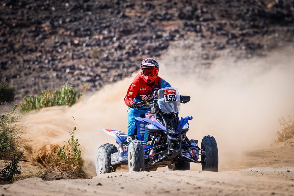 Cavigliasso marca el rumbo en los quads – Reporte Etapa 5 – Dakar 2021