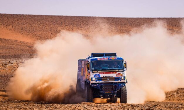 Kamaz vuelve a ocupar todo el podio en la etapa 8 – Reporte camiones – Dakar 2021